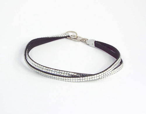 Double silver thin belt