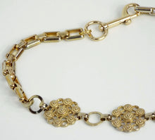 Vintage Gold Embellished Chain Band