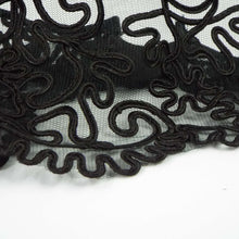 Black Lace Slip on Cuff