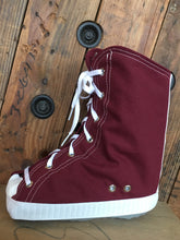 Chuck Taylor or Converse style cover for medical boots; look great while you recover from an ankle injury