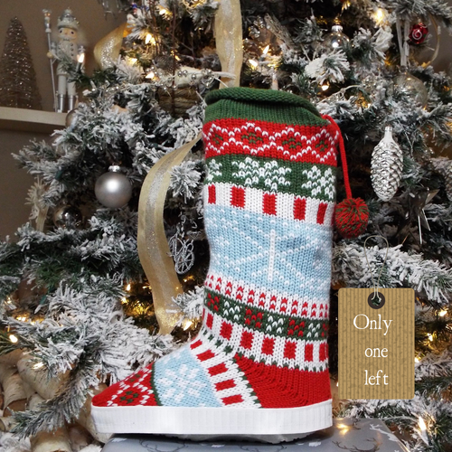 The Heidi Christmas Sweater Boot Cover
