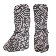stretchable and smooth covers for medical walking boots or walking cast to wear in bed at night