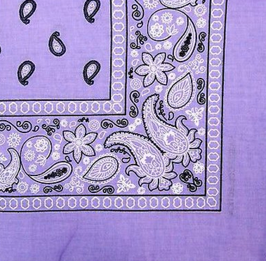 Lilac Purple Mini Me Bandana