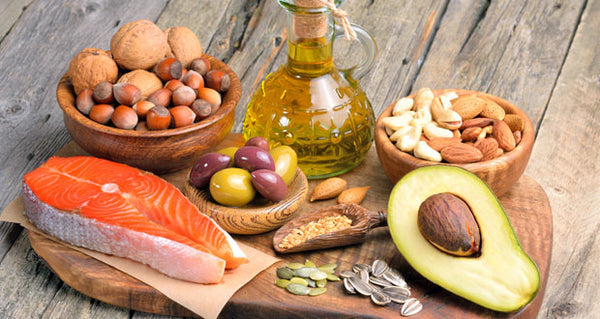 Healthy fats Omegas