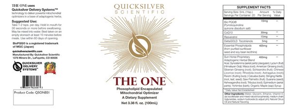 Quicksilver Scientific The One