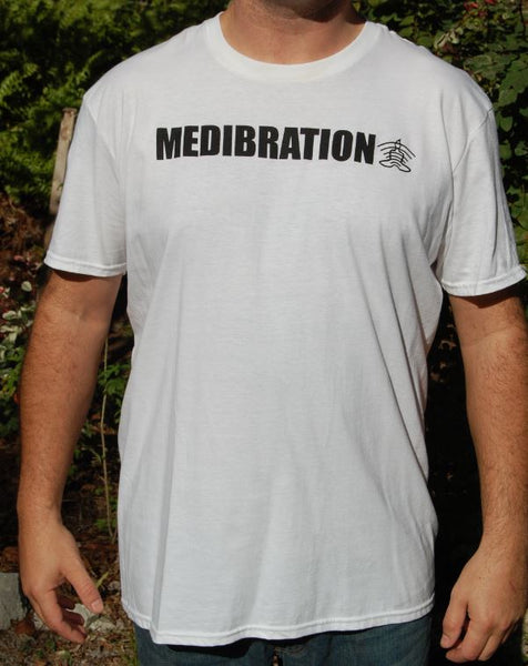 Medibration Men's T-Shirt - White