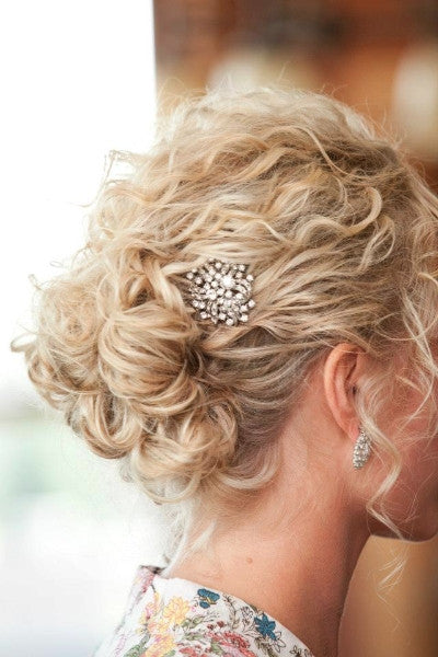 Amber Rose Hair & Makeup Bridal Style for fine, wavy hair
