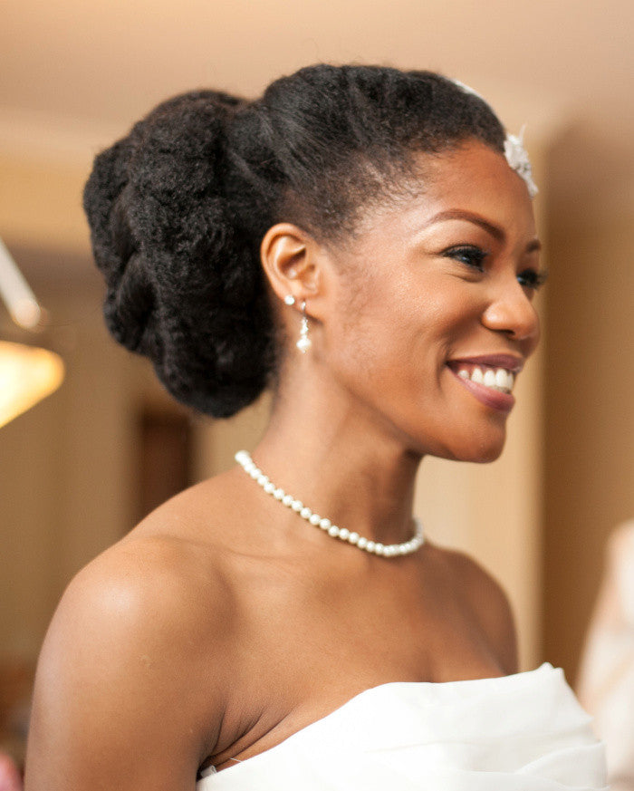 CurlStories: Natural Bride big, twisty bridal and prom style