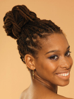 Hair Definition dreadlock bridal and prom hairstyle
