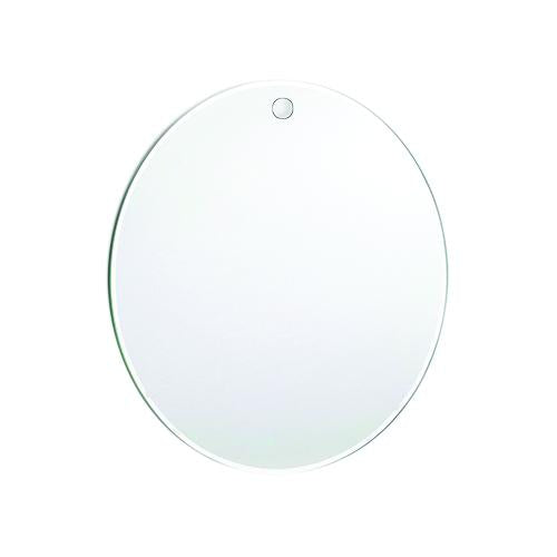 10-inch Round Hanging Anti-fog Mirror with Shower Hook
