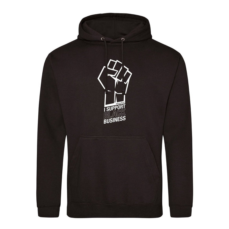 I SUPPORT BLACK BUSINESS UNISEX hoodie - PRE-ORDER