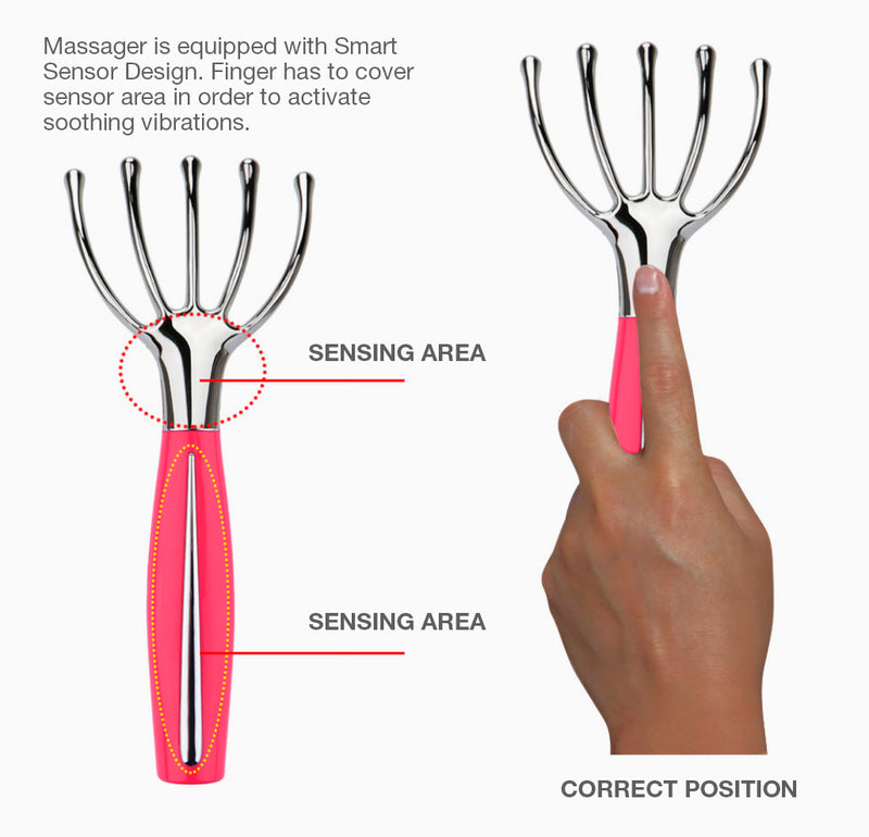 Sensitive Scalp Vibrating Massager