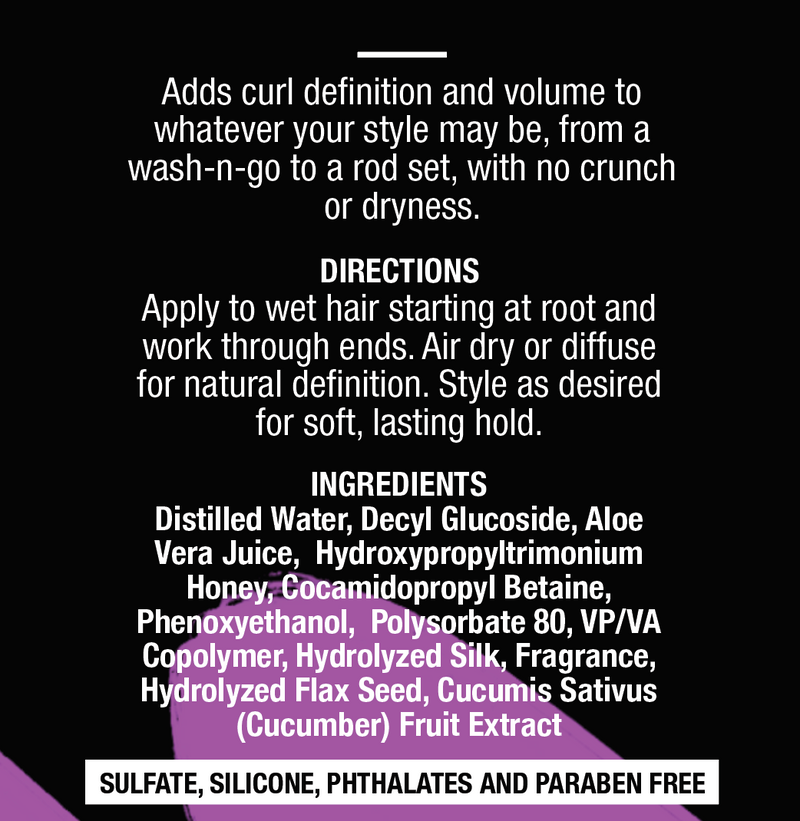 LAAAYED® Silky Smooth Curl Defining Mousse