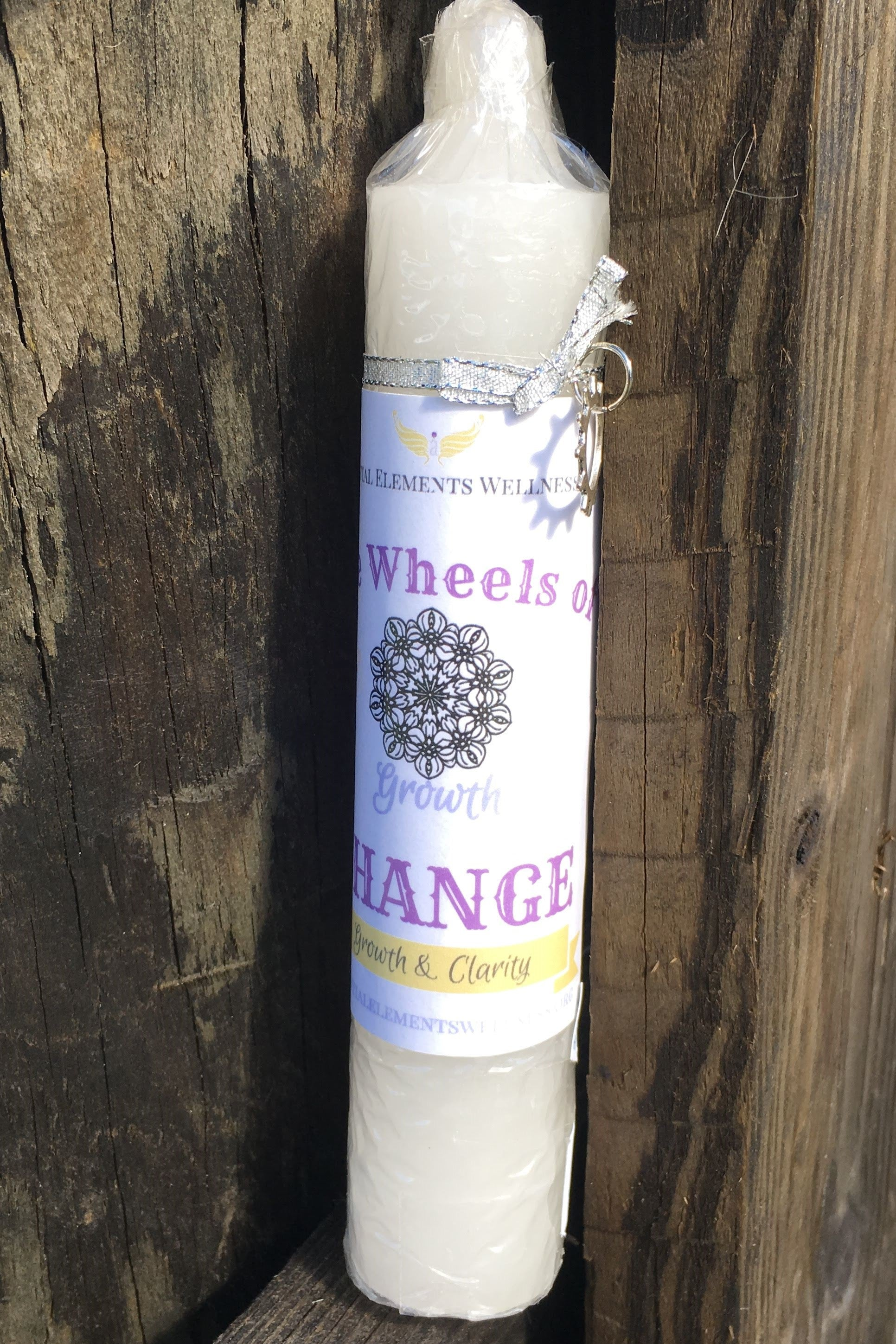 Wheels of Change Candle