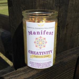 Manifest Creativity Candle