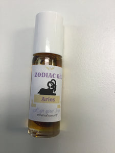 Aries Zodiac Oil