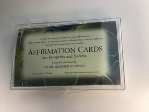 Affirmation Cards for Prosperity & Success