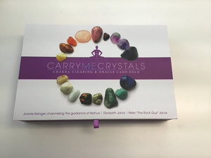 Carry me crystals: Chakra clearing and oracle card deck