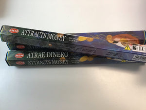 Attracts Money Hem Incense