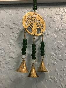 Tree of Life Chime, brass 9""