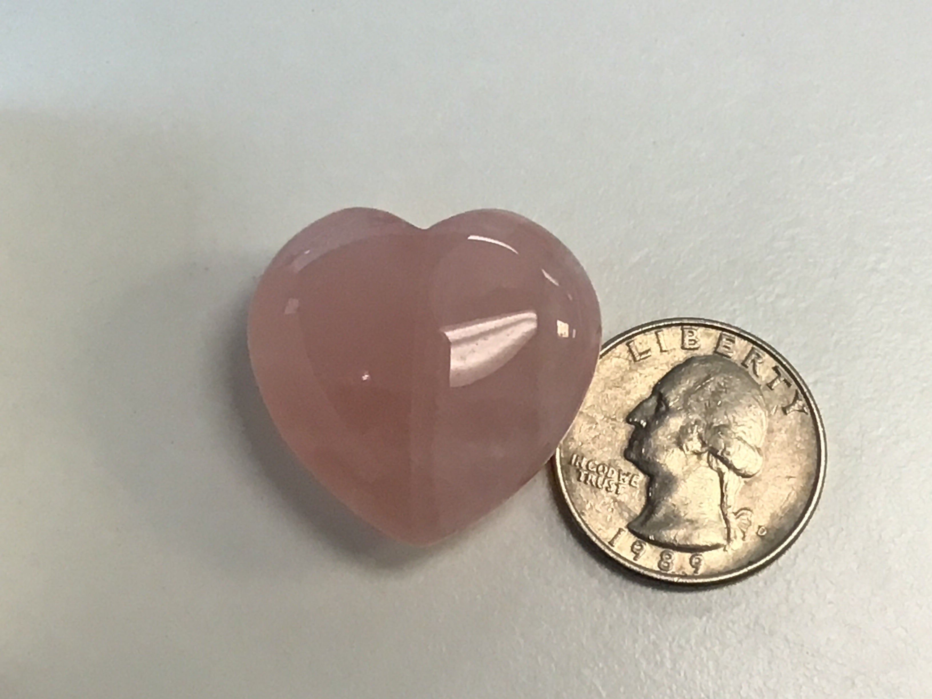 Small Crystal hearts