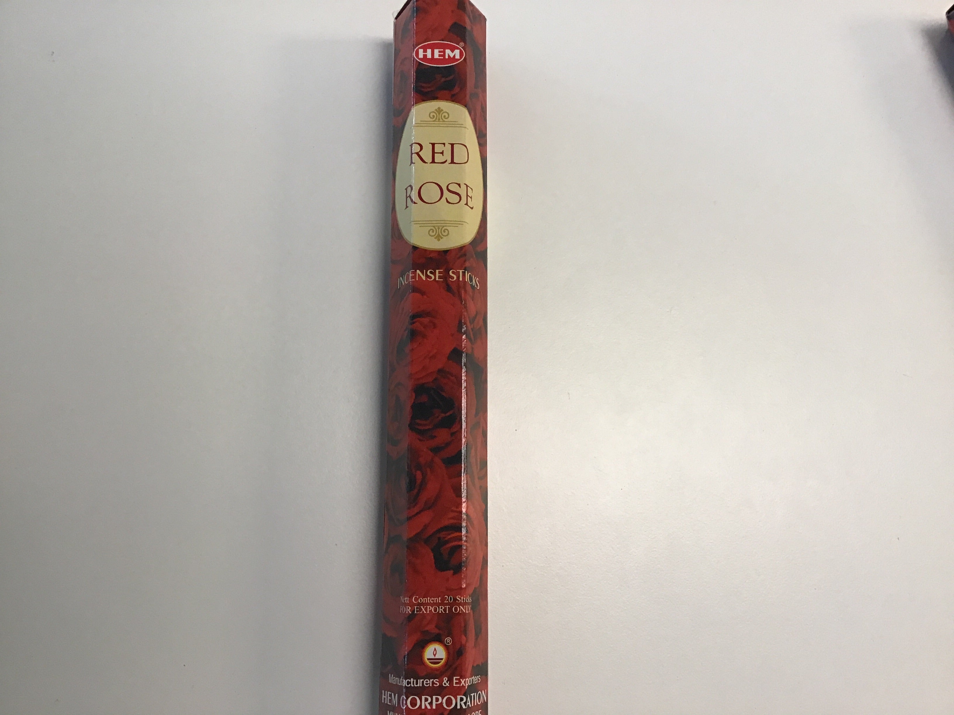 Hem Red Rose Incense Sticks