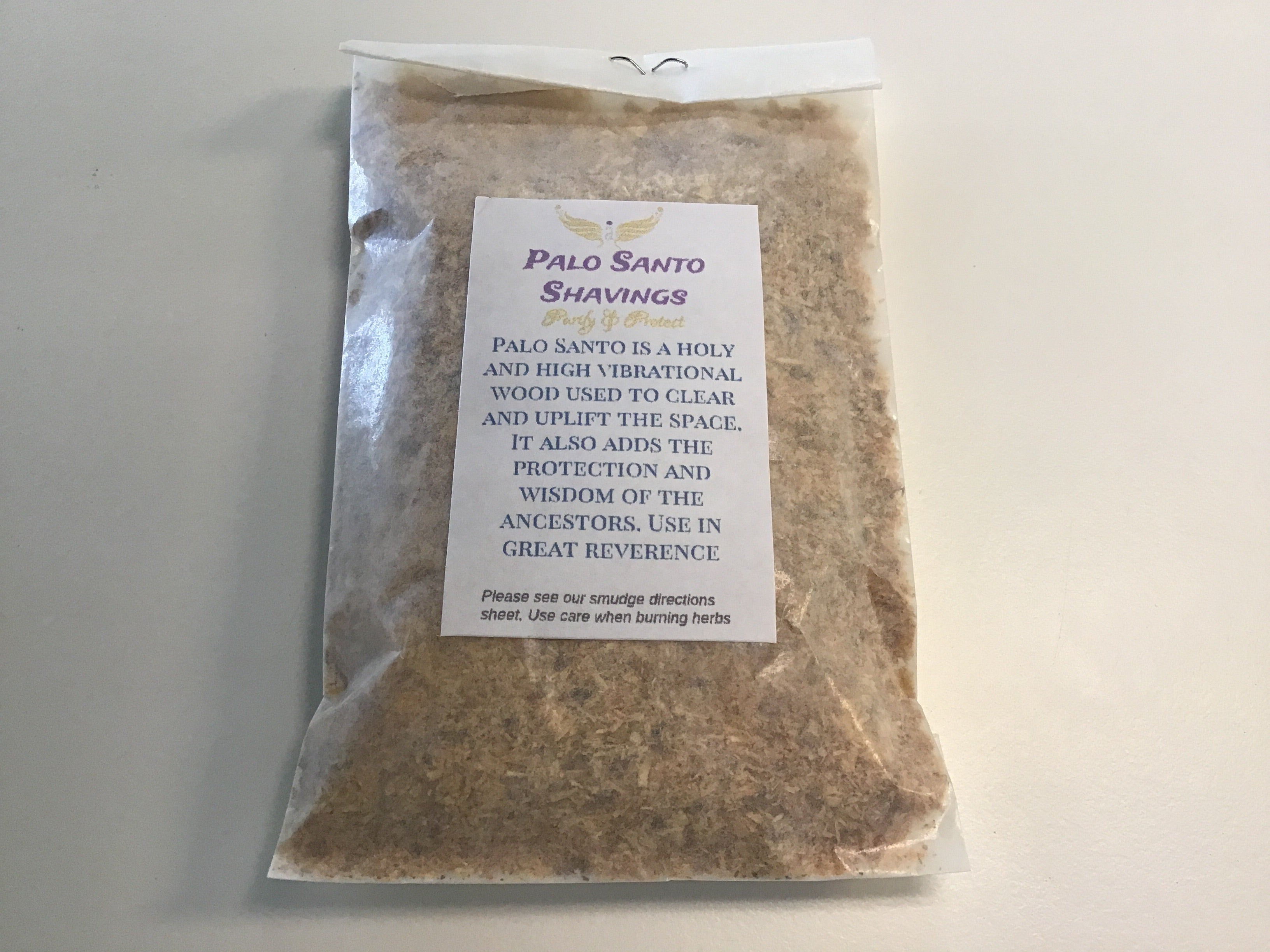 Palo Santo shavings - 1/2 oz