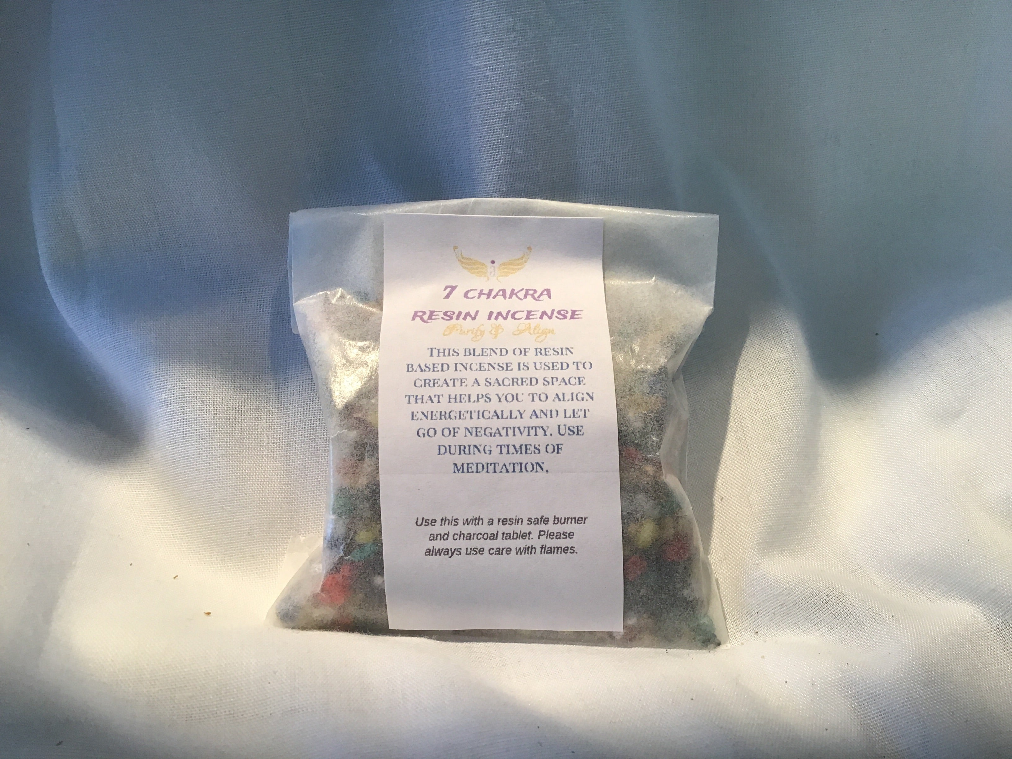 7 Chakra Resin Incense 1oz Essential Elements Wellness Llc