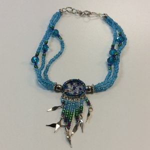 Beaded Bracelet Dream Catcher