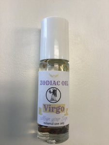 Virgo Zodiac Oil