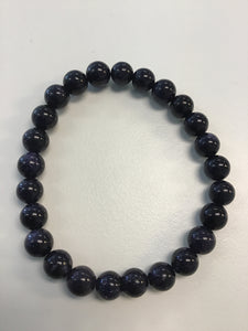 Blue Goldstone 8mm Bracelet