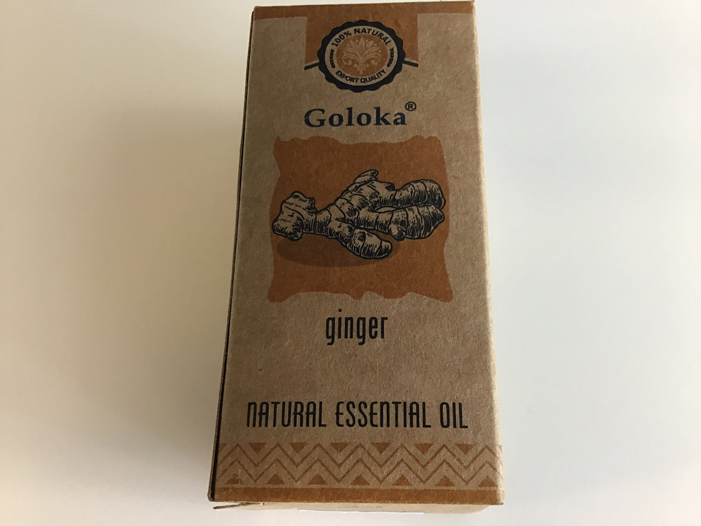 Goloka Essential Oil - Ginger