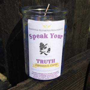 Speak Your Truth Candle