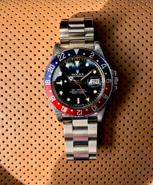 Why I Call My Rolex GMT Master 16750 a Dateless GMT.