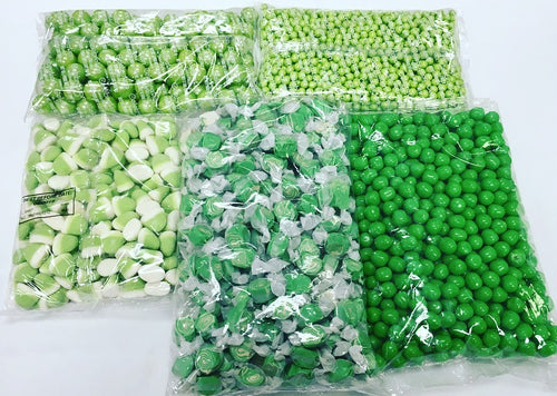 Lime Green Candy Package 14LBS