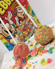 Fruity Pebbles Topped Cakepops - 1 dozen (12)