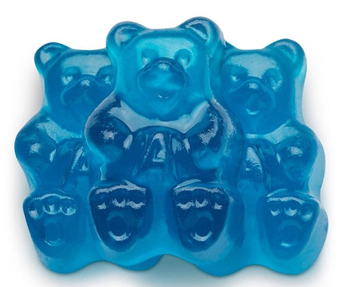 Gummy Bears Blue Raspberry - 5LB