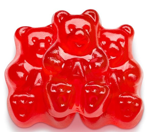 Red Cherry Gummy Bears - 5LB
