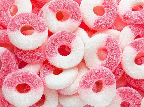 Watermelon Gummy Rings 4.5LB