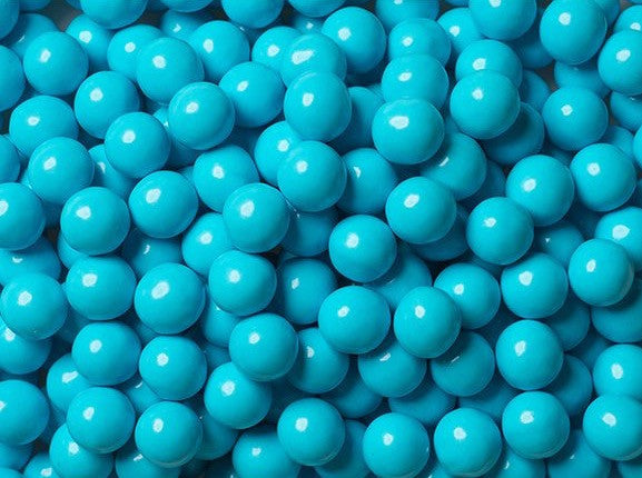 Sixlets Milk Chocolate Balls 2LB - Powder Blue