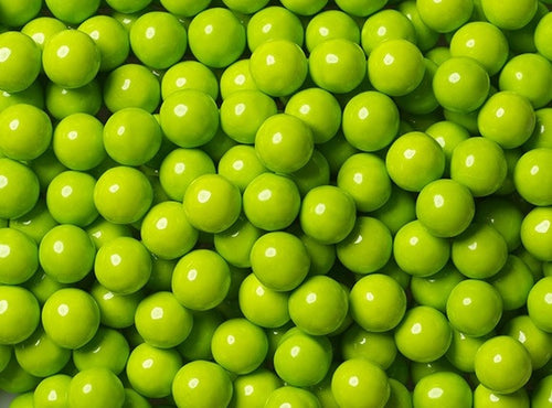 Sixlets Milk Chocolate Balls 2LB - Lime Green