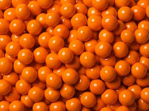 Sixlets Milk Chocolate Balls 2LB - Orange