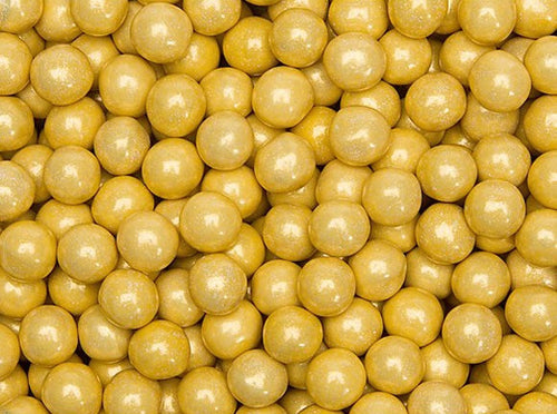 Sixlets Milk Chocolate Balls 2LB - Gold