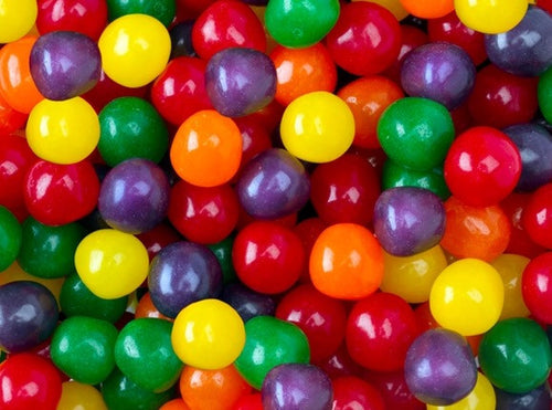 Chewy Fruit Sour Balls - Assorted Mix 5LB