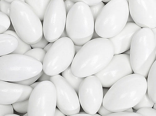 Jordan Almonds White - 2.5LBS
