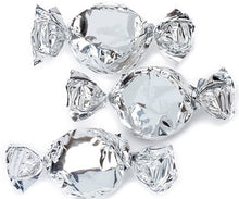 Metallic Foiled Hard Candy Buttons 2LB - Silver