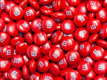 M&Ms Milk Choclate Candy - Red 2LB