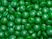 M&Ms Milk Chocolate Candy - Green 2LB Bag