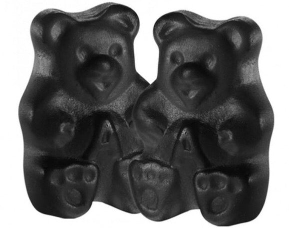 Gummy Bears Black Cherry - 5LB