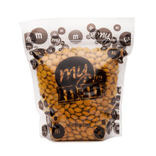 M&Ms Milk Chocolate Candy - Gold 2LB Bag